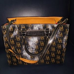 Dooney and Bourke leather sachel.
